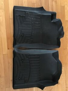 WeatherTech front floor mats for Toyota Tacoma