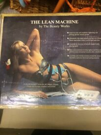 Lean Machine electrical toning pad set.