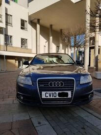 Superb 2010 Audi A6 Quattro 2.7 turbodiesel top of the range Le Mans S Line with leather and fsh