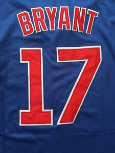 Kris Bryant & Ernie Banks - Chicago Cubs Jerseys - new/tags