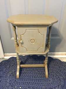 Vintage Painted Smokers Stand