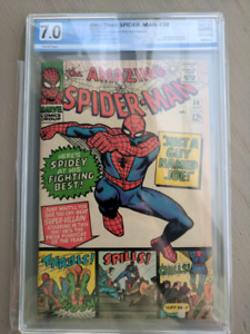 Mid-high grade spiderman comics