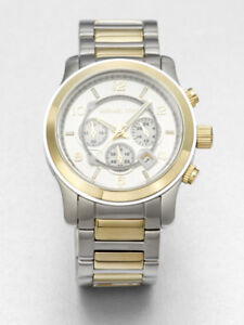 Michael Kors watch Gold and silver unisex