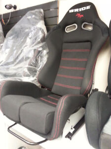 Bride gias style racing seat, with universal slider black friday