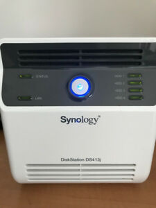 Synology DS413j with 12 TB in Excellent Condition