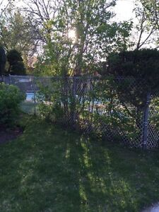 Free chain link fence