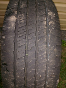 Tires-20 inch Goodyear Wrangler
