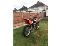 Ktm 125 swaps for big wheel 85 or £1350 Ono