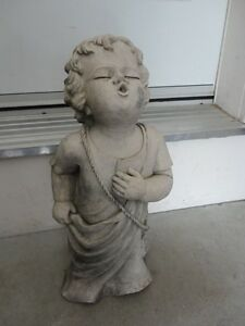 TIC COLLECTION CHERUB TALKING TO GOD GARDEN STATUE London Ontario image 1
