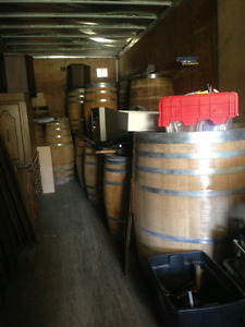 European Oak Wine Barrels