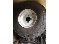 "8"" quad front tyres"