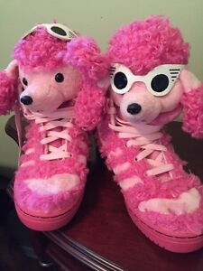 Adidas Jeremy Scott Poodle Pink sneakers
