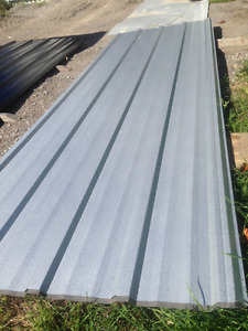 Brand New Steel Roofing,550 SqFt  Acrylic Coated Galvalume,