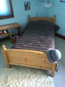 Single bed and mattress.  Excellent condition