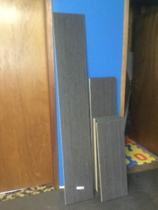Bamboo Look Shelving ( never used)
