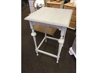 Shabby chic distressed occasional table