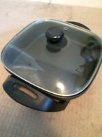 Electric fry pan