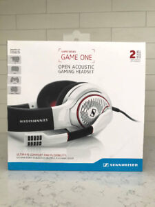 Sennheiser GAME ONE headphones / casque audio
