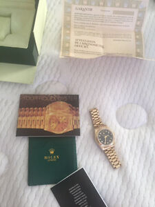 Rolex oyster perpetual day-date