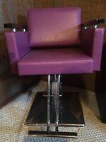 Salon chair/TV prop