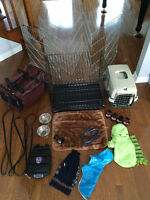 Dog cage and accessories - everything you would need!