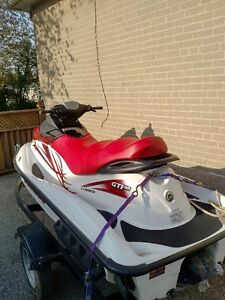 Great 3 Seat Sea Doo With Trailer
