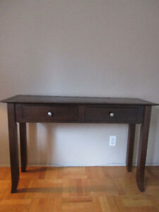 Classic Solid Wood Side Table - $50 (Vancouver)