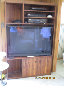 "42"" Panasonic Plasma TV, with free DVD player and shelving"