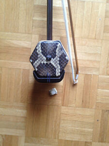 Erhu (Chinese violin or two strings fiddle) for sale