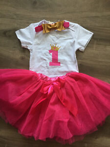 1st Birthday Outfit Set