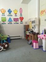 Fulltime spot available in a homedaycare
