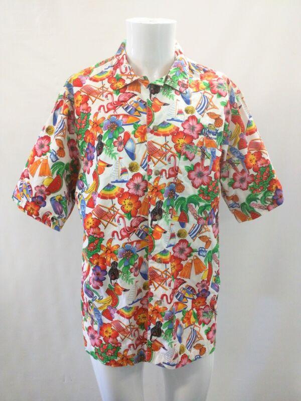 JIMMY BUFFETT Hawaiian Tour Shirt  Size XL Havana Daydreamin