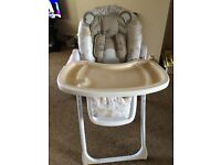 Mothercare bear & friends high chair