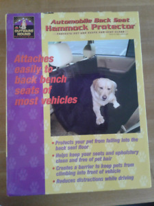 Outward Hound Automobile Back Seat Hammock Protector for Sale