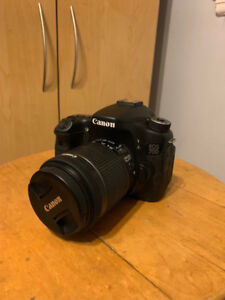 Canon 70d - (Lens included: 18-55mm & 55-250mm)