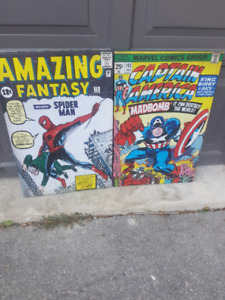 Two Super Hero posters