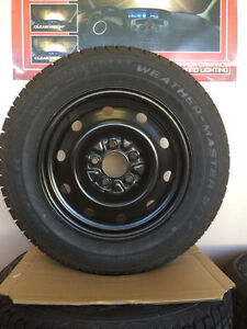 WINTER TIRES AND RIMS SALE