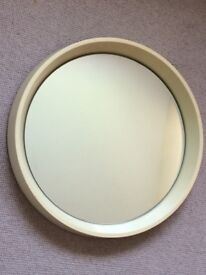 Retro mirror 1960s. Danish style