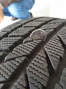 TOYO OBSERVE SNOW TIRES AND ALLOY WHEELS Kitchener / Waterloo Kitchener Area image 2