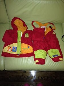 Winter suit by Kushies for 12 month old