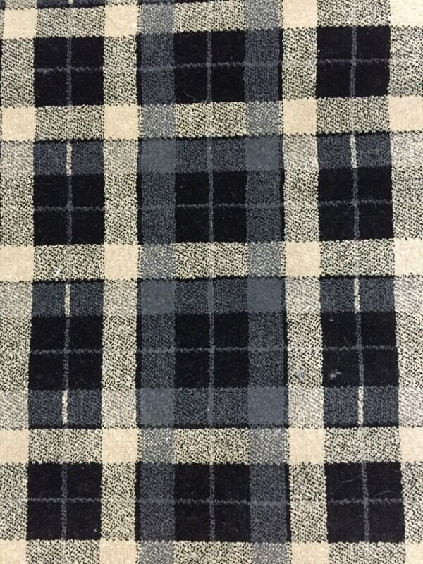Tartan Carpet Real Wilton 4 3m By 3 2m Delivered In