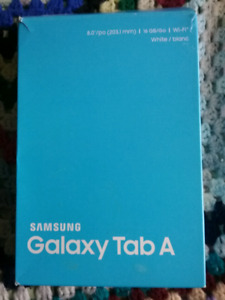 Tablet galaxy tab A  $ 50 today only