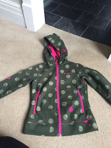 Girls softshell spring/fall columbia jacket