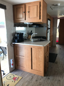 2 Bedroom trailer in Summerland Beach RV Park