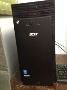 Acer Aspire TC great condition, hardly used