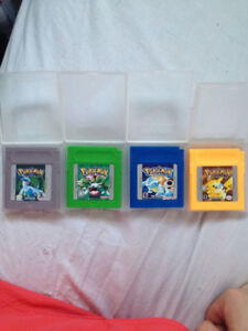 Pokemon Blue, Yellow, Green, Silver