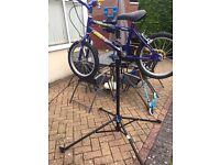 Mechanic bike stand