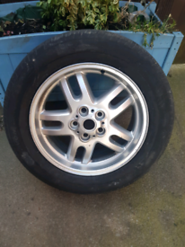 Range rover vogue L322 spare wheel and tyre