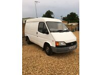 Ford transit swb 2000 w reg 2.5 banana engine