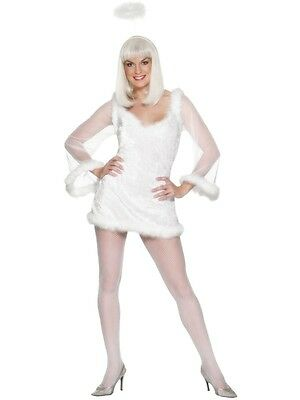 Saucy Angel Costume Small Angelic * SALE * Christmas UK 8/10 Ladies Fancy Dress - Angels Costume Sale